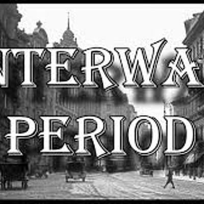 THE INTERWAR PERIOD timeline