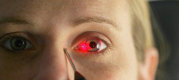 Escaner de la retina Portatil