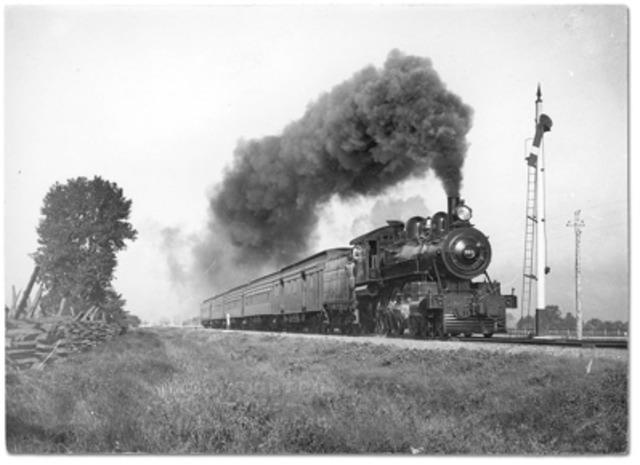 Steam Powered Train