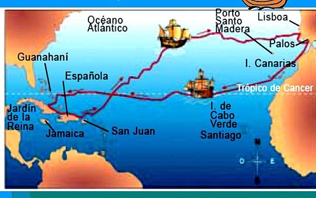 1º Viaje de Colón □■