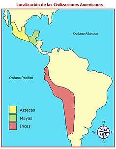 Conquistaron territorios Aztecas e Incas. □■