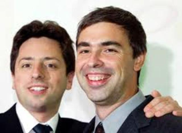 Larry Page y Sergey Brin desarrollaron PageRank