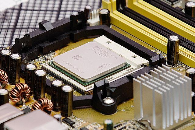 Microprocesador chip