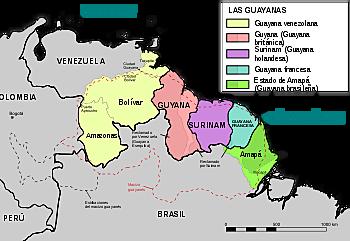 Establecimiento de la Guayana. ♧♧