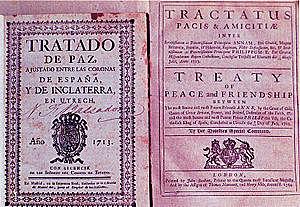 Tratado de Utrecht. ♧♧