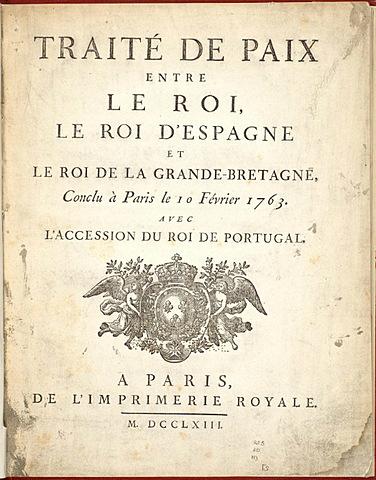Tratado de París desde los franceses. ♧♧