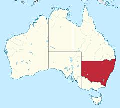 Fundación de Nueva Gales del Sur.  ○●