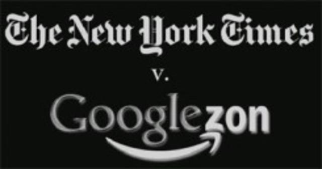 New York Times VS Googlezon