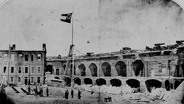 Fort Sumter – First Shots Fired