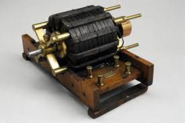Nikola Tesla---Induction Electric Motor
