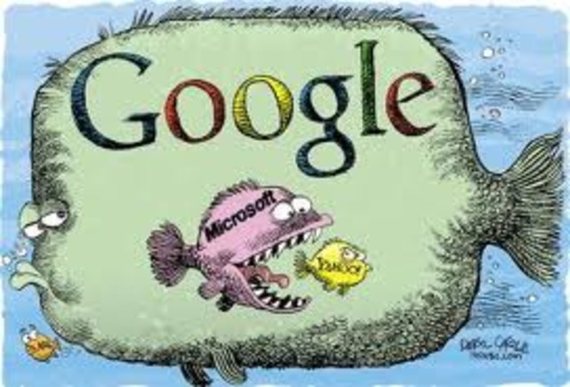 Google compra microsoft y amazon compra yahoo