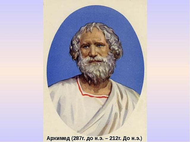 тот самый Архимед