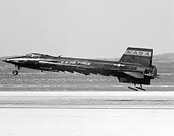 North American X-15 launched