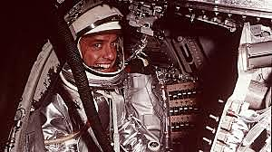 Alan B. Sherpard becomes first American in Space