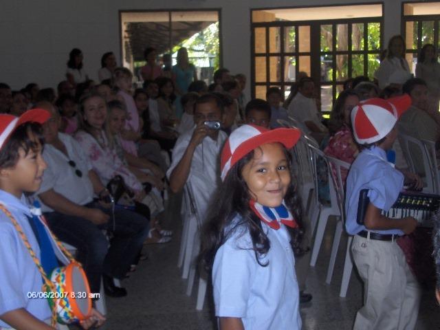 My  graduation from preschool to primary