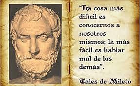Muere Tales de Mileto