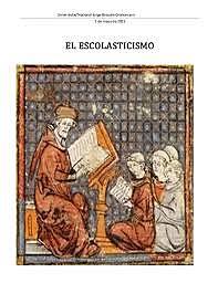 Escolástica o escolasticismo