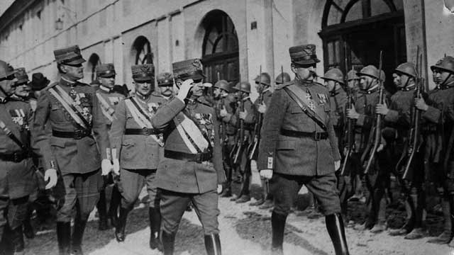 Italy declares war on Germany!