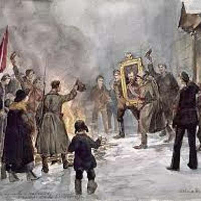 The First World War and The Russian Revolution timeline