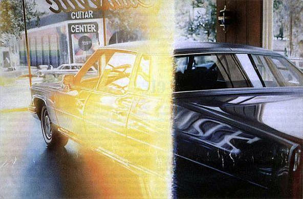 Light Struck Cadillac de David Kessler