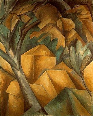 Maisons à l'Estaque de Georges Braque