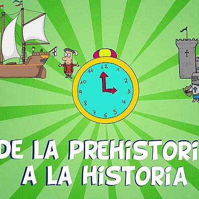 Elena Rey.    DA PREHISTORIA A HISTORIA timeline