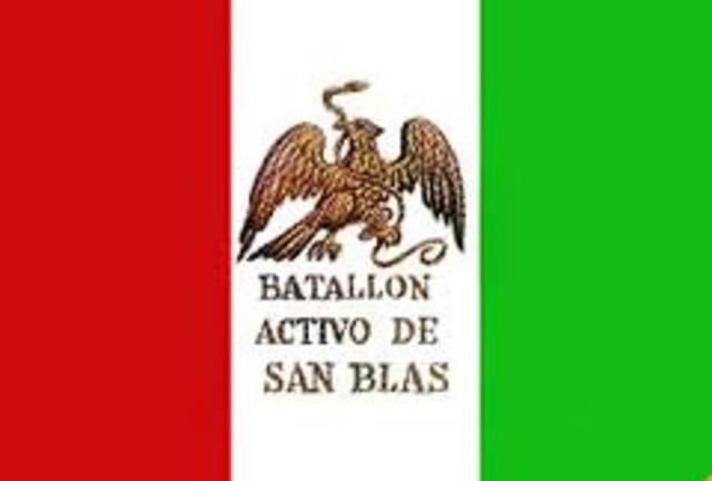 Bandera del Batallón de San Blás