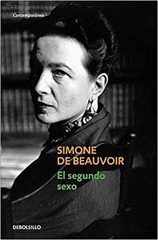 Obra realizada por la francesa Simone de Beauvoir, El Segundo sexo (1949).