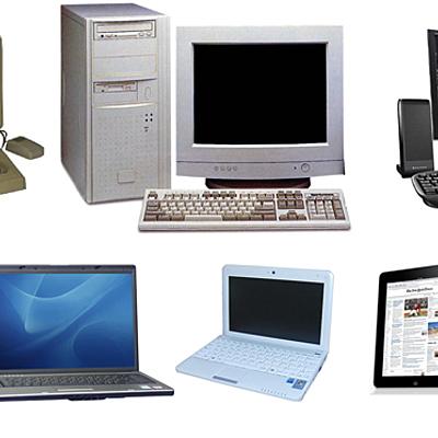 Evolución histórica del ordenador y su capacidad de procesamiento timeline