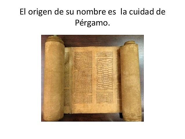 El Pergamino en Grecia y en Roma