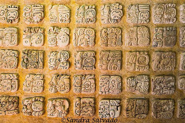 Escritura pictográfica maya