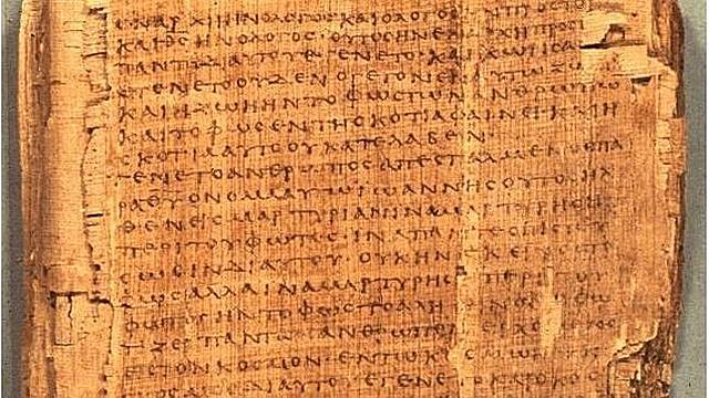 Se escribe el primer manuscrito sobre papel.
