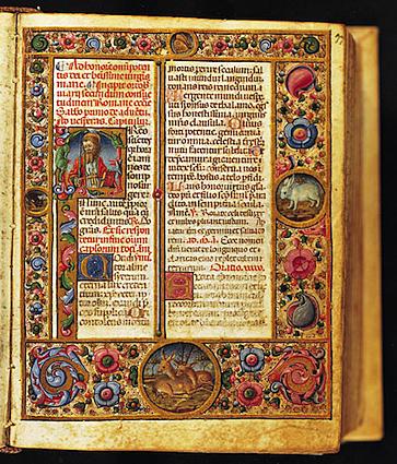 La lectura  en la Edad Media