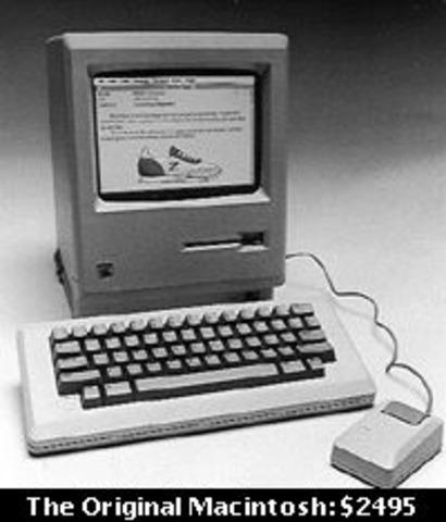 Jobs introduces the Macintosh
