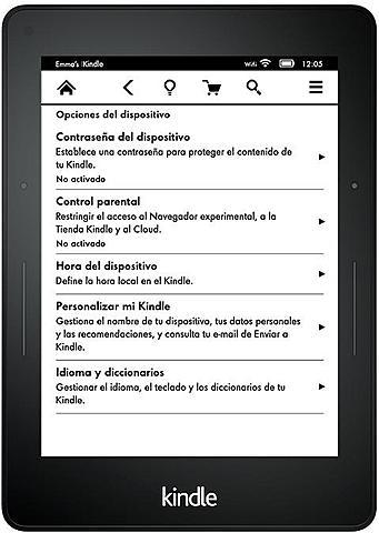 Se comercializa el lector Kindle.
