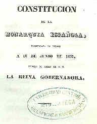 Constitució de 1837