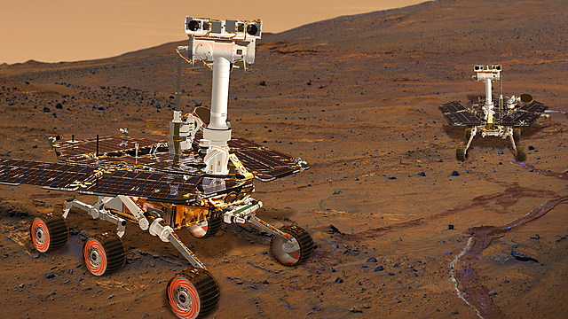 Mars Exploration Rovers are launched