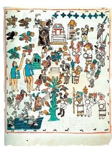 Enseñanza del alfabeto a los indígenas
