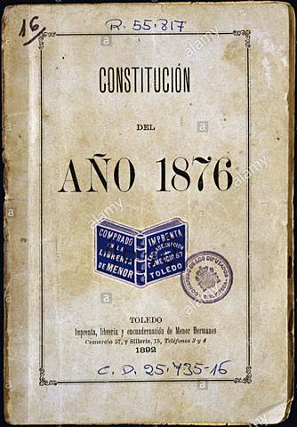 La Constitució de 1876