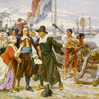 US History 17th Century timeline