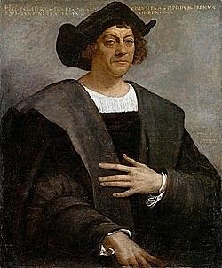 """Columbus """"oppdager"""" Amerika"""