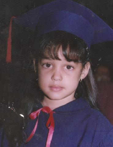 My graduation from Preschool