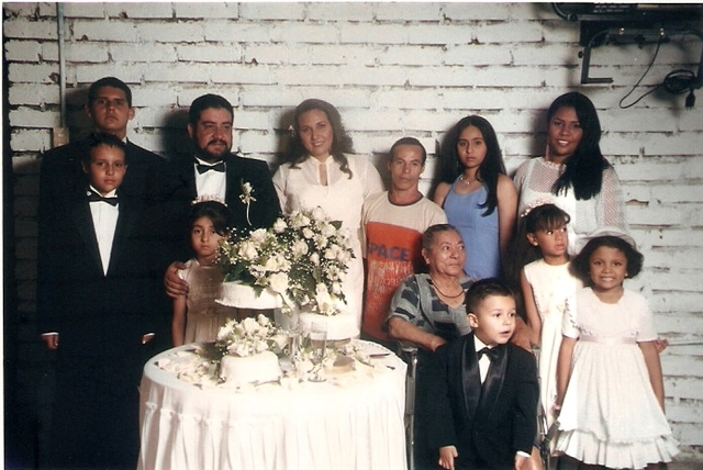 The marriage of my aunt