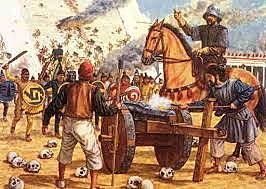 Hernán Cortés conquista el imperio Azteca.