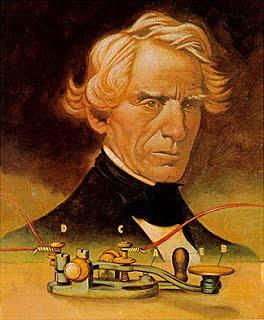 Samuel Morse inventó el telégrafo.
