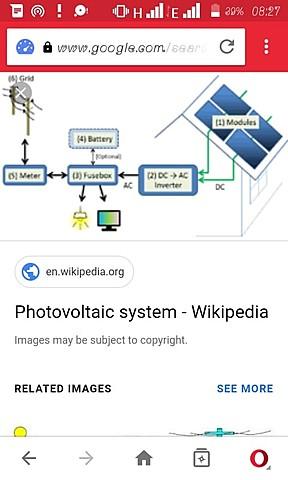 Photo-voltaic  solar power generation system