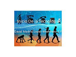 inicio de la tecnología