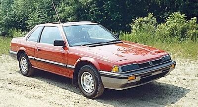 Segunda generación (1983-1987) PRELUDE