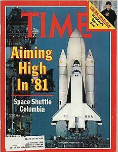 Primer vuelo del transbordador Columbia.