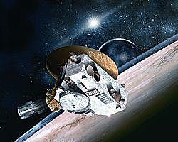 La misión Nuevos Horizontes llega a plutón.